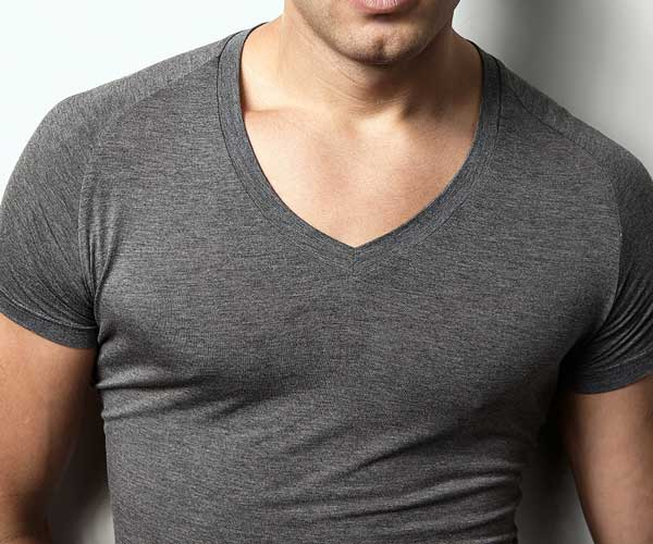 Mr. Davis grey undershirt